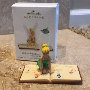 New Hallmark Tink & Fairy Journal Tree Ornament